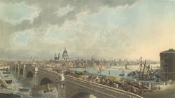View of London taken from Albion Place, Blackfriars Bridge